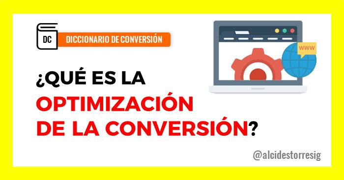 Qué es la optimización de la conversión para sitios web